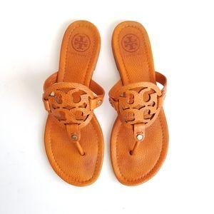 TORY BURCH Pumpkin Miller Flip Flop Logo Sandal